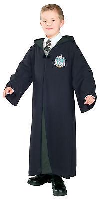 Harry Potter Slytherin Deluxe Child Boys Costume Hooded Robe Fancy Dress - Deluxe Harry Potter Slytherin Kostüm