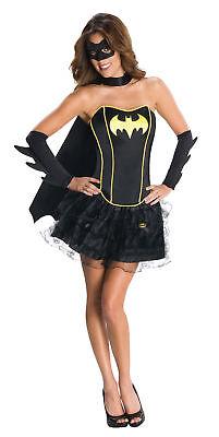 Batgirl Erwachsene Damen Kostüm Dc Comics Batman Heldin Rock Sassy Sexy