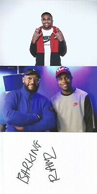 MUSIC* RAMZ SIGNED 6x4 WHITECARD+2 UNSIGNED PHOTOS+COA *BARKING* for sale  Shipping to South Africa