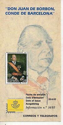 Don Juan De Bourbon (España Monarquias Don Juan de Borbon año 1993 (DW-350))