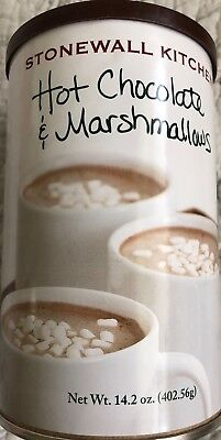 **14.2oz can Stonewall Kitchen Hot Chocolate Marshmallows Drink Mix Cocoa Coffee ()