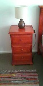Lovely Timber Bedside Table Nowra Nowra-Bomaderry Preview