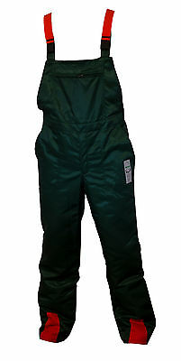 Bib & Brace Forestry Trousers Chainsaw Safety 34