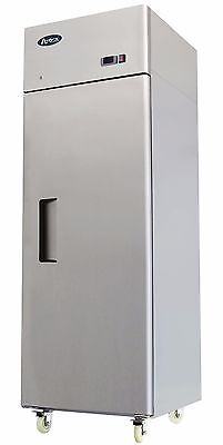 Atosa Mbf8001 One Door Stainless Steel Commercial Freezer Upright Top Mount
