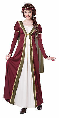 Adult Maid Marian Medieval Maiden Renaissance Lady Women's Costume