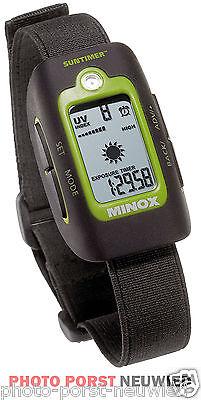 Minox Suntimer - Die Uhr, die vor einem Sonnenbrand warnt