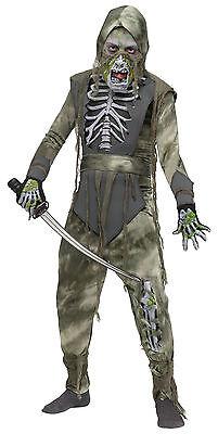 Kids Boys Zombie Ninja Halloween Costume Scary Halloween Large 12-14  - Halloween Costumes Zombie Ninja