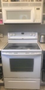 Whirlpool Stove and Microwave Range Hood