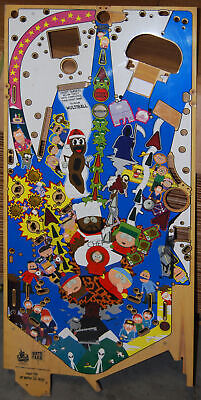 Sega Southpark - Pinball Playfield NOS  Damaged Wall Art Only - Good Low Price!