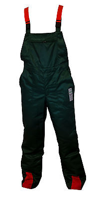 Bib & Brace Forestry Chainsaw Protection Trousers 32