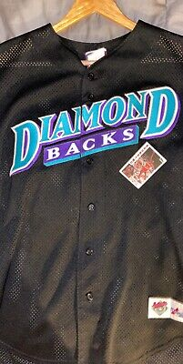 Vintage Majestic AZ Diamondbacks Jersey black LARGE