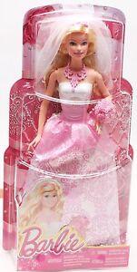 Mattel CFF37 Barbie Hochzeit Braut Barbiepuppe im Brautkleid NEU / OVP