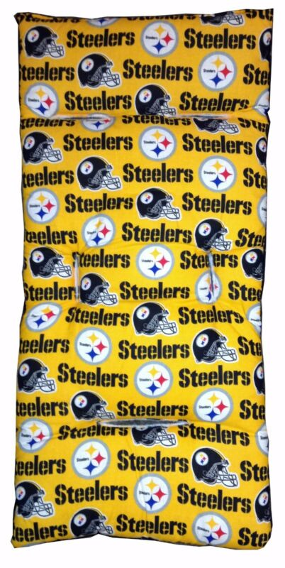 NEW - NFL Baby Stroller Liner - Pittsburgh Steelers - Made in USA - Football