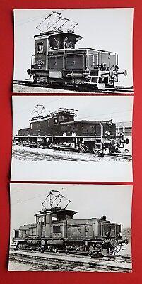 3 x Foto Eisenbahn Zweikrafttraktor Tem 21, Güterzuglokomotive 13305  ( 23778