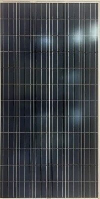 Used 275W 72 Cell Polycrystalline Solar Panels 275 Watts Scratched Backsheet