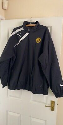 New Men Puma Wet Jacket Size XL 1/4 Zip