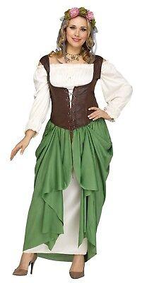 Fun World Wench Beer Maiden Oktoberfest Plus Womens Halloween Costume 124255 - Halloween Beer Wench Costume