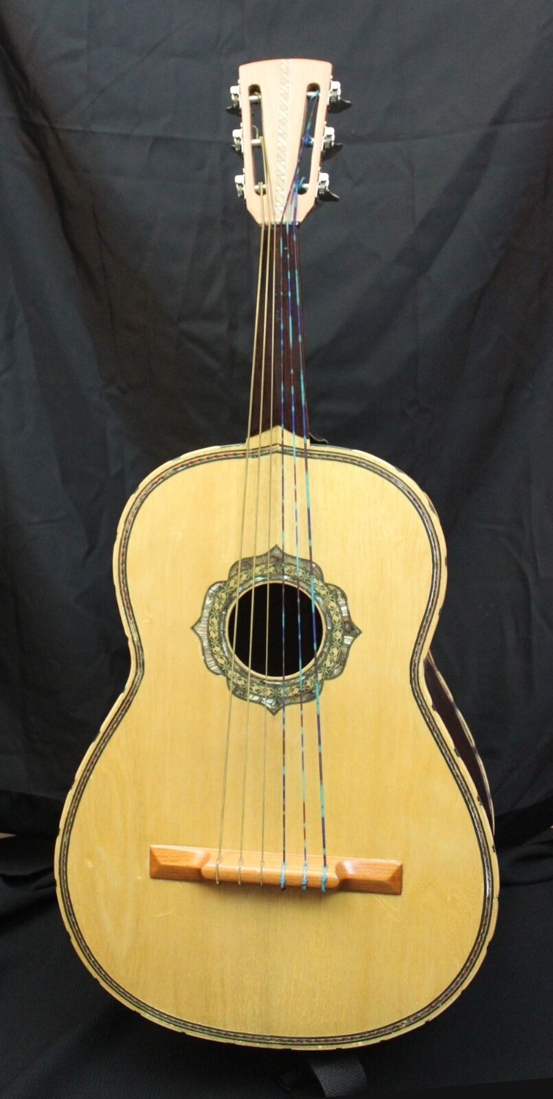 used j l reyes mexican guitarron acoustic 6 string bass guitar ebay. Black Bedroom Furniture Sets. Home Design Ideas