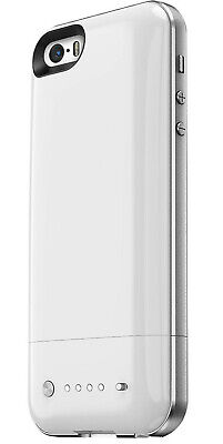 Mophie 32GB WHITE Space Pack Case Apple iPhone 5 / 5s 1700mAh Battery Charger