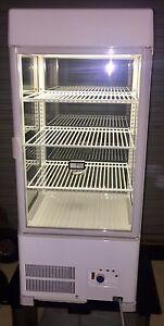 Twin Door Chiller Refrigerated Display Case Fridge, Cakes, Drinks. Sydney City Inner Sydney Preview