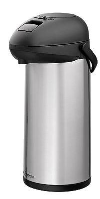 Bartscher Gastro Edelstahl-Isolier-Pump-Kanne mit Pumpsystem 5 Liter NEU