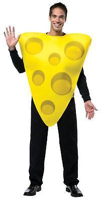 ADULT THE BIG CHEESE WEDGE FOOD HALLOWEEN COSTUME GC6332](Cheese Wedge Costume)