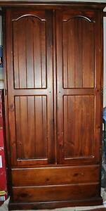 Timber wardrobe - make an offer Nowra Nowra-Bomaderry Preview