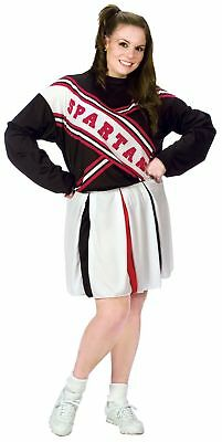 SNL Spartan Cheerleader Costume - Plus Size 1X/2X - Dress Size 16-22 - Spartan Cheerleaders Snl Costume