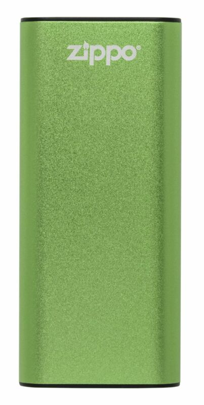 Zippo Green Heatbank 3-Hour Rechargeable Hand Warmer, 40574