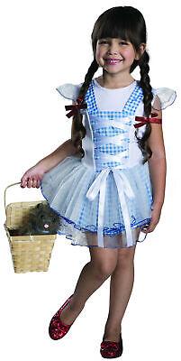 Dorothy Child Girls Costume Tutu Dress Size M Medium 8-10 NEW Wizard of Oz](Tutu Dorothy Costume)