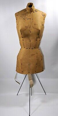 Antique Adjust-o-matic Mannequin Dress Form Model Vintage 1960s