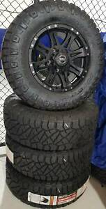 WHEEL & TYRE PACKAGE CSA 17x8 & NITTO 265/70R17 Nunawading Whitehorse Area Preview