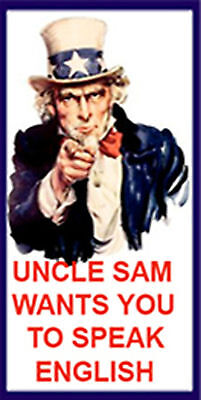 uncle-sam-wants-you-to-speak-english, SP-3 for sale  Shipping to India
