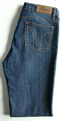F.Z Collection Womens W30 L32 Boot Cut Flared Blue Jeans Flared Jeans Cut Hose