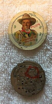 Vintage Gene Autry Watch - Always Your Pal copyright 1948 - for parts. F/S