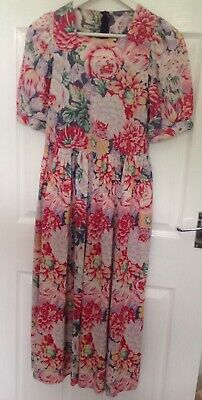 vintage laura ashley tea dress Size 12
