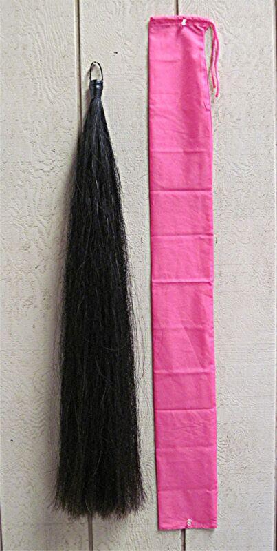 Tail Extension NEW BLACK 1/2# by KATHYS TAILS Free Bag FEI USDF AQHA APHA Legal