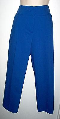 Royal Blue Womens Capris (WOMENS PANTS SIZE 14 ROYAL BLUE CAPRI APT. 9 NWT)