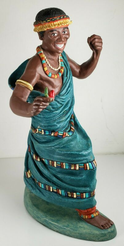 Wilfred Duncan Royale 1993 Ltd. Ed Ebony Collection Jubilee Dancer Lamar Figure