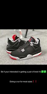 Taking orders for bred 4's
