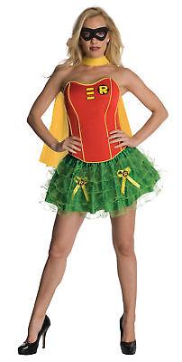 Dc Comics Robin Sexy Korsett Erwachsene Damen Sexy Kostüm Heldin Halloween