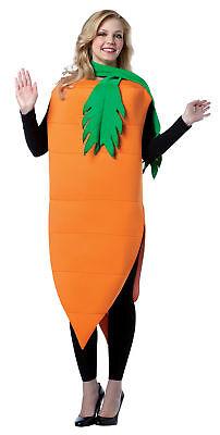 Carrot Top Healthy Vegetable Food Costume Adult Women's Tunic Halloween - Healthy Halloween Foods