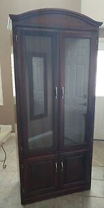 High Quality Mahogany Cabinet