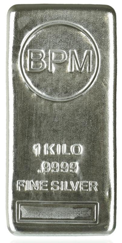 Kilo Bpm .9999 Silver Bar