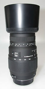 SIGMA-70-300mm-F4-5-6-DG-MACRO-TELEPHOTO-LENS-TO-SUIT-NIKON-DIGITAL-SLR