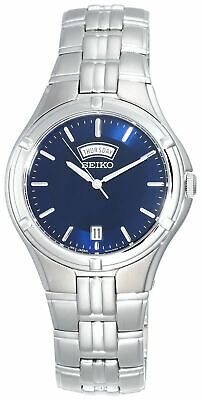 Seiko Men's SGEE37 Dress Sport Silver-Tone Stainless Steel Watch  Tone Dress Sport Watch