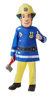 Feuerwehr Mann Fireman Sam Kinder  2-3 - Feuerwehrmann Kostüm 2 3 Jahre