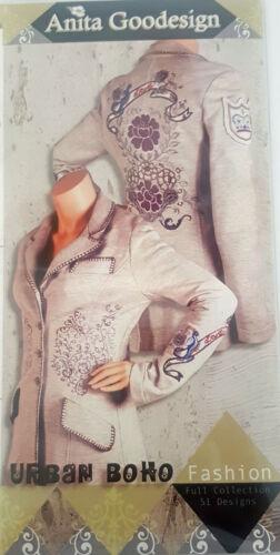 "Anita Goodesign ""Urban BoHo Fashion""  Machine Embroidery Designs on CD"