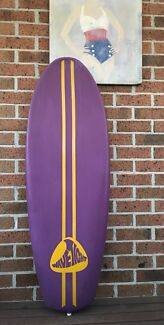 70's 'Wave Tight' Plastic Board Surfboard Wave Paddle Knee Surfing