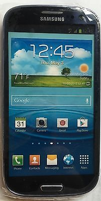 (1) Samsung Galaxy S III T-MOBILE Black Mock Up Display Phone NON FUNCTIONING